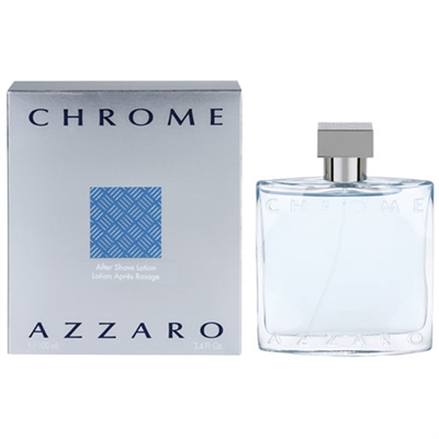 Chrome by Loris Azzaro After Shave Lotion for Men 3.4oz / 100ml