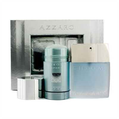 Chrome Sport by Loris Azzaro for Men 2 Piece Gift Set