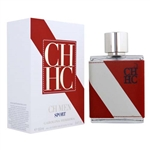 CH Sport by Carolina Herrera for Men 3.4 oz Eau De Toilette Spray
