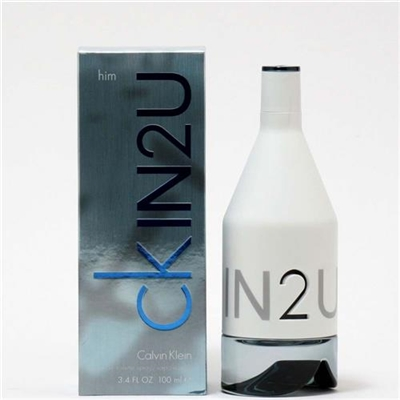 CK IN2U  by Calvin Klein for Men 3.4 oz Eau De Toilette Spray