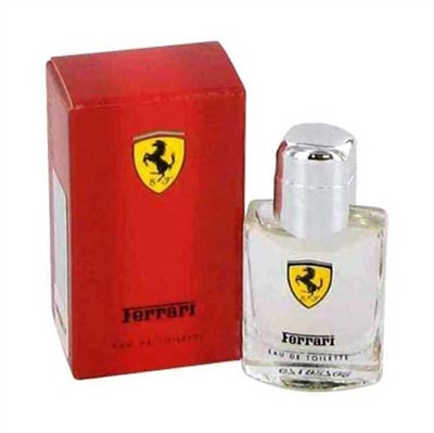 Ferrari Red by Ferrari for Men 0.13 oz Eau De Toilette Miniature Splash
