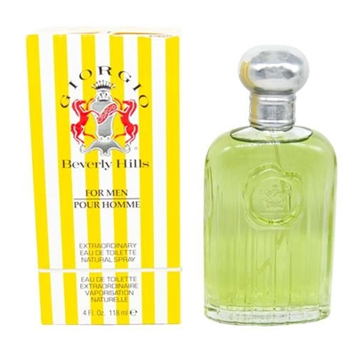 Giorgio Yellow by Giorgio Beverly Hills for Men 4.0 oz Eau De Toilette Spray