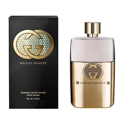 Guilty Diamonds Pour Homme by Gucci for Men 3.0oz Eau De Toilette Spray