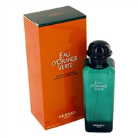 Eau d'Orange Verte by Hermes for Men 3.3oz Eau De Cologne Spray