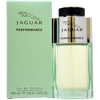 Jaguar Performance by Jaguar for Men 3.4 oz Eau De Toilette Spray