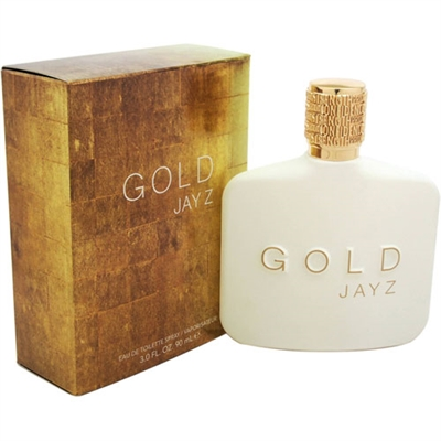 Gold by Jay Z for Men 3.0oz Eau De Toilette Spray