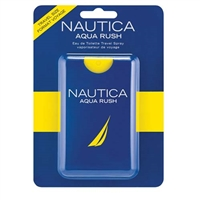 Aqua Rush by Nautica for Men 0.67oz Eau De Toilette Travel Spray