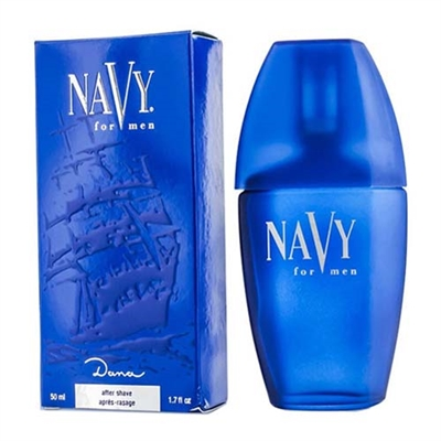 Navy Aftershave by Dana for Men 1.7oz / 50ml