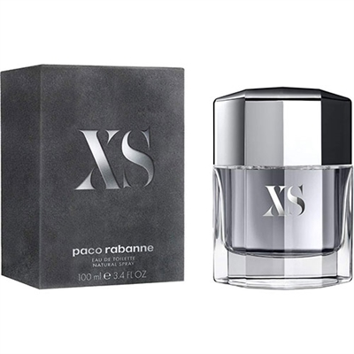 XS Excess by Paco Rabanne for Men 3.4 oz Eau De Toilette Spray