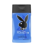 Playboy Cool Malibu Full Body Shower Gel & Shampoo 8.4oz / 250ml