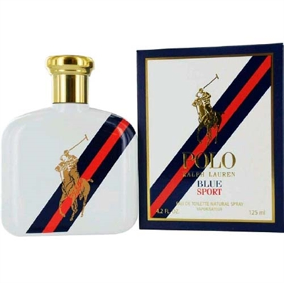 Polo Blue Sport by Ralph Lauren Cologne for Men 4.2 oz / 125ml Eau De Toilette Spray