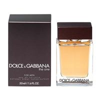 The One by Dolce & Gabbana for Men 1.7 oz Eau De Toilette Spray