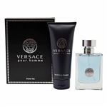 Versace Pour Homme by Gianni Versace for Men 2 Piece Gift Set