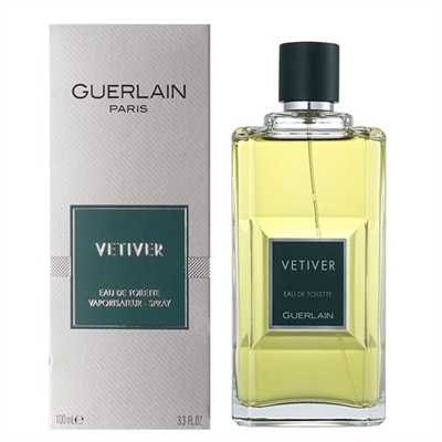 Vetiver by Guerlain for Men 3.4 oz Eau De Toilette Spray