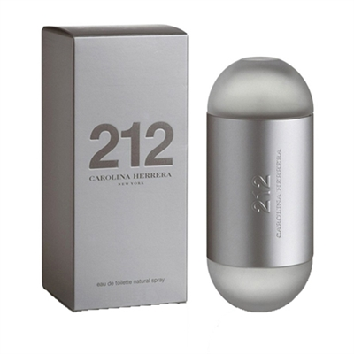 212 by Carolina Herrera for Women 3.4 oz Eau De Toilette Spray