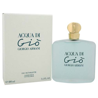 Acqua Di Gio by Giorgio Armani for Women 3.4 oz Eau De Toilette Spray