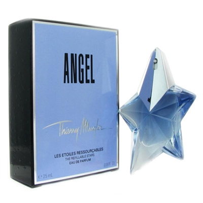 Angel The Refillable Stars by Thierry Mugler for Women 0.8oz Eau De Parfum Spray