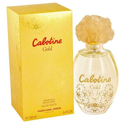 Cabotine Gold by Parfums Gres for Women 3.4oz Eau De Toilette Spray