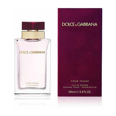 Dolce & Gabbana Pour Femme by Dolce & Gabbana for Women 3.3 oz Eau De Parfum Spray