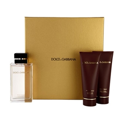 Dolce & Gabbana Pour Femme by Dolce Gabbana for Women 3 Piece Gift Set
