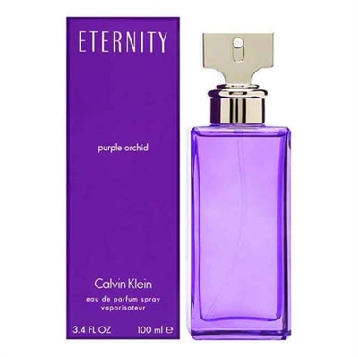 Eternity Purple Orchid by Calvin Klein for Women 3.4oz Eau De Parfum Spray