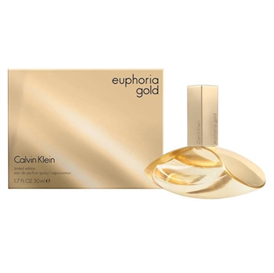 Euphoria Gold Limited Edition by Calvin Klein for Women 1.7oz Eau De Parfum Spray