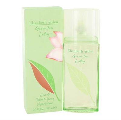 Green Tea Lotus by Elizabeth Arden for Women 3.3oz Eau De Toilette Spray