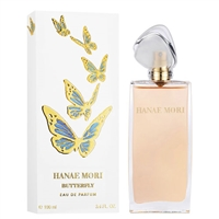Butterfly by Hanae Mori for Women 3.4oz Eau De Parfum Spray