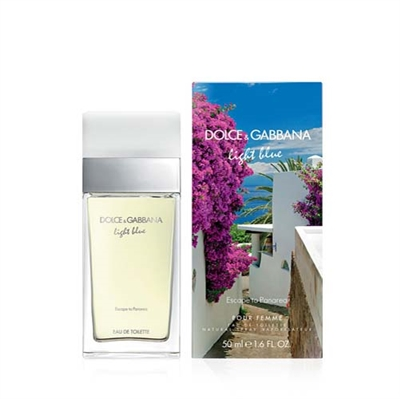 Light Blue Escape To Panarea by Dolce & Gabbana for Women 1.7oz Eau De Toilette Spray