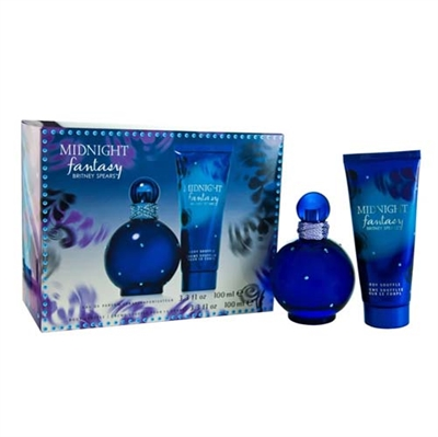 Midnight Fantasy by Britney Spears for Women 2 Piece Gift Set