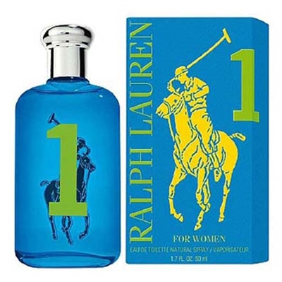 Big Pony Collection  #1 Blue by Ralph Lauren for Women 3.4 oz Eau De Toilette Spray