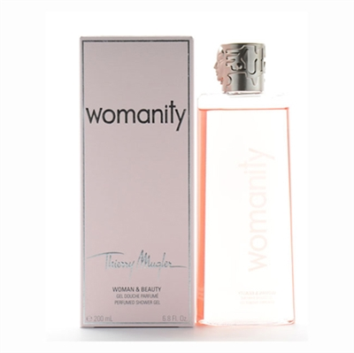 Thierry Mugler Womanity Perfumed Shower Gel for Women 6.8oz / 200ml