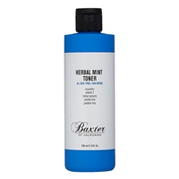 Baxter of California Herbal Mint Toner All Skin Types 8oz / 236ml