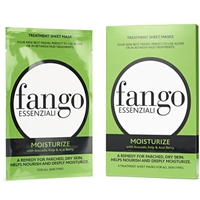 Borghese Fango Essenziali Moisturize Treatment Sheet Masks 4pc All Skin Types 0.83oz / 25ml