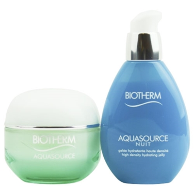 Biotherm Aquasource Hydration Power Duo 2 Piece Set Normal / Combination Skin