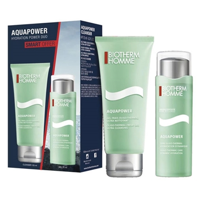 Biotherm Homme Aquapower Hydration Power Duo 2 Piece Set