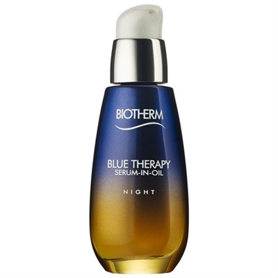 Biotherm Blue Therapy Serum-In-Oil Night All Skin Types 1.69oz / 50ml