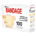 BioSwiss Sterile Bandage With Non-Adherent Pad 100 Piece