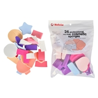BioSwiss Professional Latex-Free Cosmetic Sponges 24 Piece