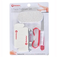 BioSwiss 5 Piece Pedicure Set