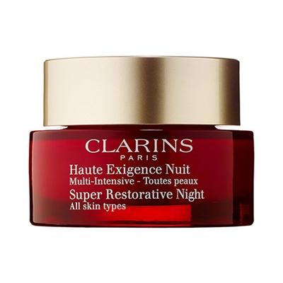 Clarins Super Restorative Night All Skin Types 1.6oz / 50ml