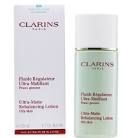 Clarins Truly Matte Ultra-Matte Rebalancing Lotion for Oily Skin 1.7 oz