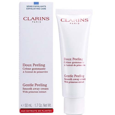 Clarins Gentle Peeling Smooth Away Cream All Skin Type 1.7 oz