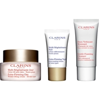 Clarins 40+ My Anti-Wrinkle Firming Essentials 3 Piece Set