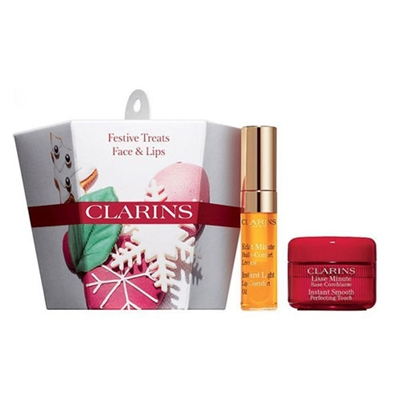 Clarins Festive Treats Face & Lips 2 Piece Set