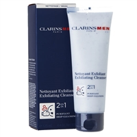 Clarins Men Exfoliating Cleanser 2 in 1  4.4oz / 125ml