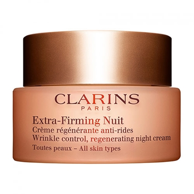 Clarins Extra-Firming Nuit Wrinkle Control Regenerating Night Cream 1.6oz / 50ml