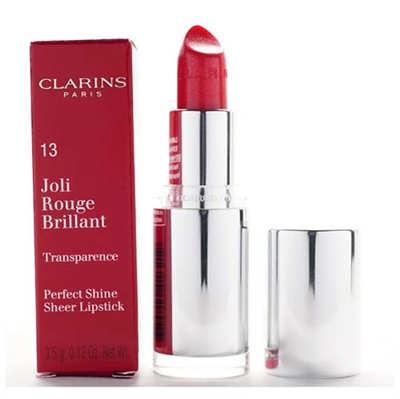 Clarins Joli Rouge Brilliant Lipstick 13 Cherry 3.5g / 0.12oz