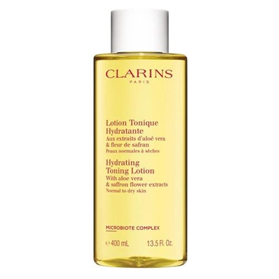 Clarins Hydrating Toning Lotion With Aloe Vera 13.5oz / 400ml