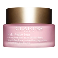 Clarins Multi-Active Jour Antioxidant Day Cream For Dry Skin 1.6oz / 50ml